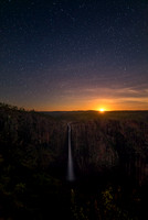 Moonrise at Wallaman Falls